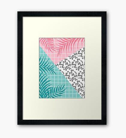 Malibu #redbubble #decor #buyart Framed Print