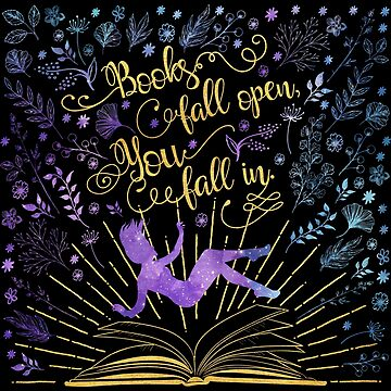 Books Fall Open, You Fall In by eviebookish