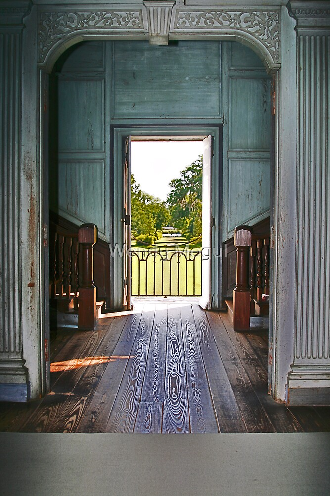 Historic Hallway by Wendy Mogul