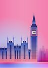 London Big Ben UK by elfelipe