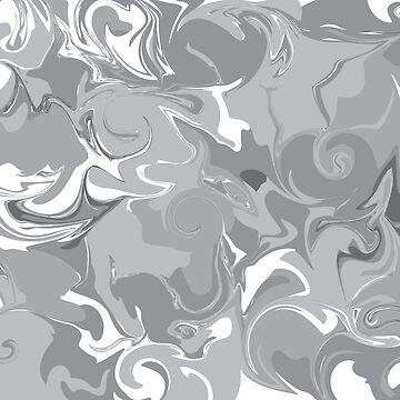 Grey Marble  by ggeorgiegirl