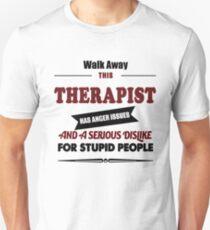 Therapist therapy gift costume t shirt T-Shirt