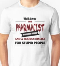 Pharmacist birthday costume gift t shirt T-Shirt
