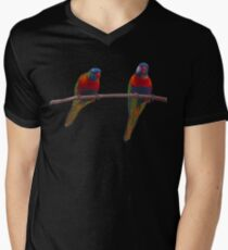 Leaves and Lorikeets T-Shirt