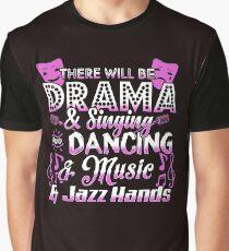 Drama Tee. Theatre Nerd. Graphic T-Shirt