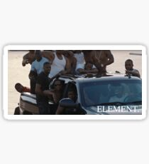 ELEMENT. Kendrick Lamar. Sticker