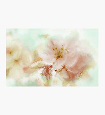 Floral Painting Photographic Print
