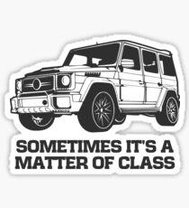G Class 4X4 Sticker