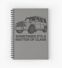 G Class 4X4 Spiral Notebook