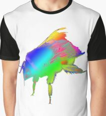 Psychedelic Worker Bee Graphic T-Shirt