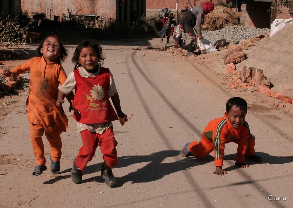 Happy kids by Cyana