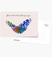 Wind Beneath my Wings . . . Postcards