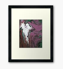 Angel (lies from the darkness) Framed Print