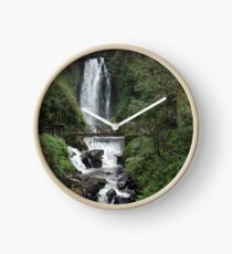 Waterfall and River Clock
