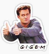 Friends - Gig -em Sticker