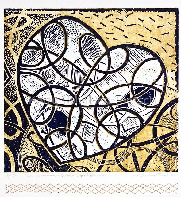 All Embracing, Where Spirit Resides by Kerryn Madsen-Pietsch