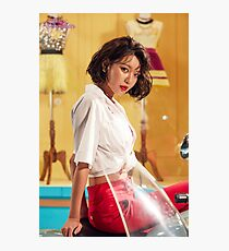 SNSD Sooyoung Photographic Print