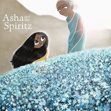 Asha and the Spiritz - Asha and Naani by tallncurly