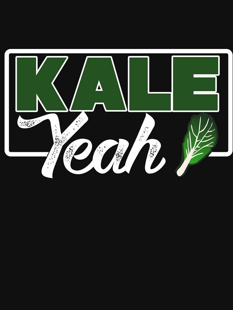 3a324083c Kale Yeah Funny Vegan Pun Tee Shirt