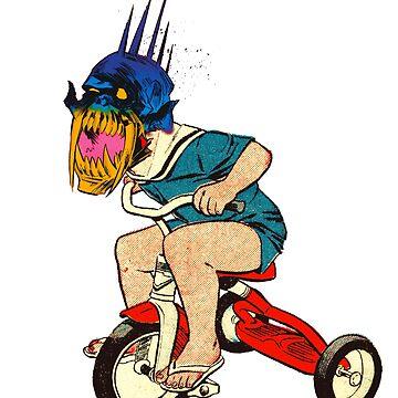 Demonic Trike Rider by Megatrip
