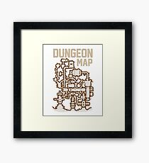 Dungeon Roleplaying T-Shirt Framed Print