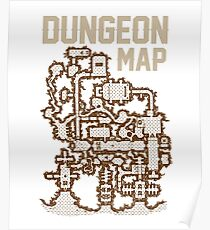 Dungeon Roleplaying T-Shirt Poster