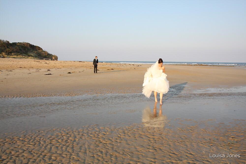 walking over water by Louisa Jones