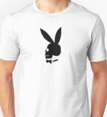 Camiseta unisex Skull bunny playboy tee