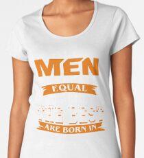 Men the best are born in February Women's Premium T-Shirt