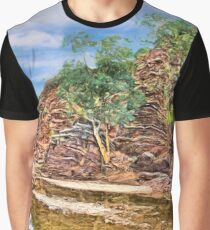 Rocks at Brachina Gorge, Flinders Ranges, Sth Australia Graphic T-Shirt