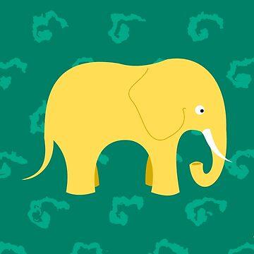 Happy elephant by kikemontes