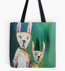Bunnies at the Aurora Tote Bag