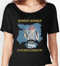 Winner Winner Chicken Dinner! Playerunknown's Battlegrounds PUBG Women's Relaxed Fit T-Shirt