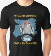 Winner Winner Chicken Dinner! Playerunknown's Battlegrounds PUBG T-Shirt