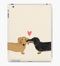 Dachshunds Love iPad Case/Skin