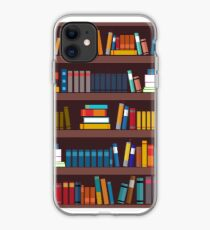 Book pattern iPhone Case