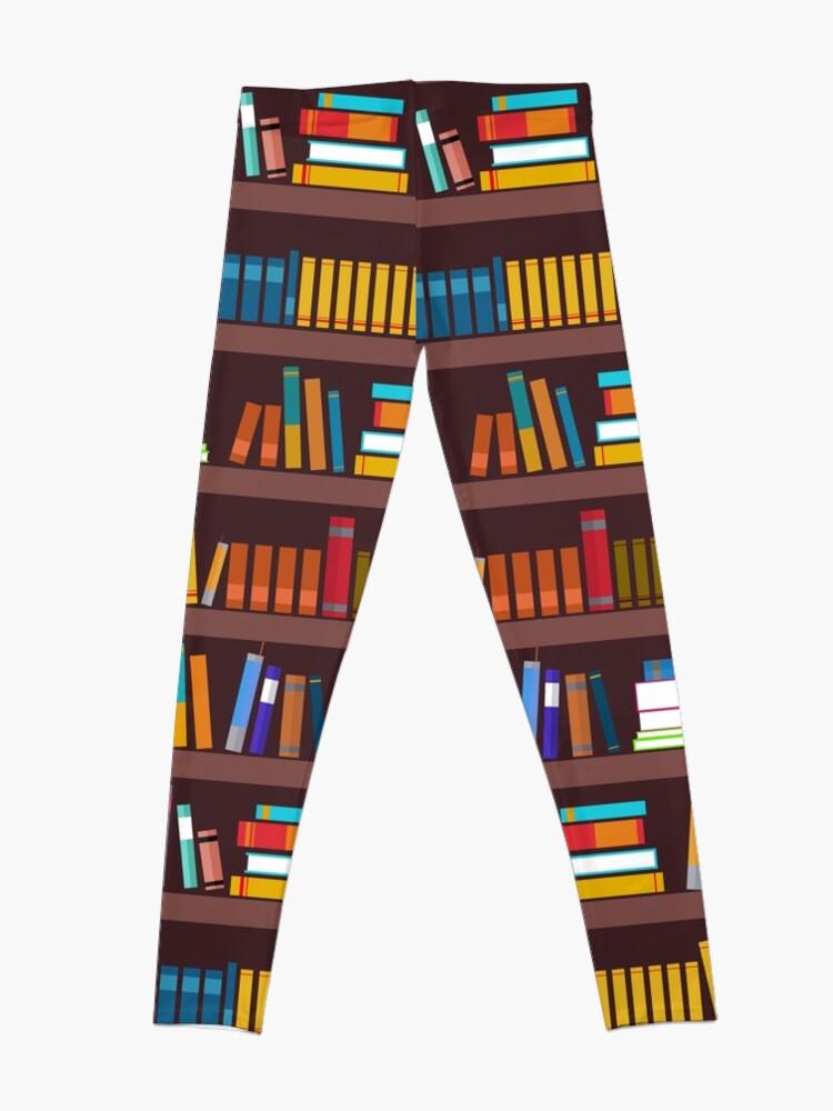 Alternate view of Book pattern Leggings