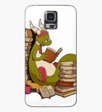 Book dragon Case/Skin for Samsung Galaxy