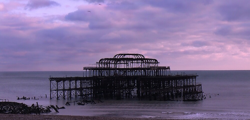 West Pier Brighton by mariarty
