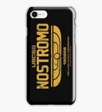 Nostromo (USCSS) Variant Gold iPhone Case/Skin