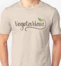 VEGETARIAN - VEGETARIER Unisex T-Shirt