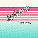 San Clemente, California | Surf Stripes by retroready