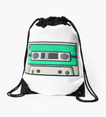 Retro - Cassette Drawstring Bag