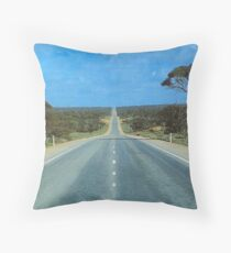 Eyre Highway Throw Pillow