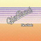 Gilgo Beach, New York   Surf Stripes by retroready