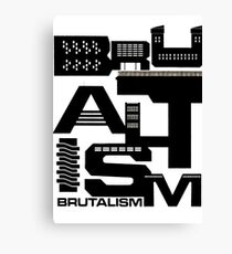Brutalism Canvas Print