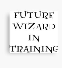 Future Wizard in Training Canvas Print