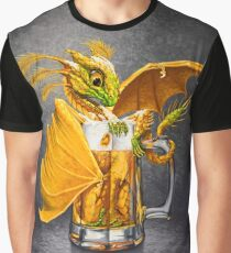 Beer Dragon Graphic T-Shirt