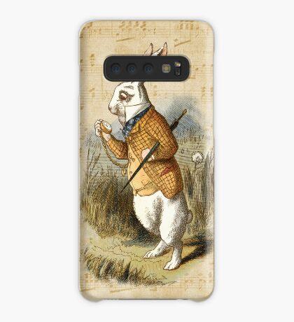 Conejo blanco - Alicia en el país de las maravillas Funda/vinilo para Samsung Galaxy
