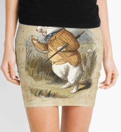 Conejo blanco - Alicia en el país de las maravillas Minifalda